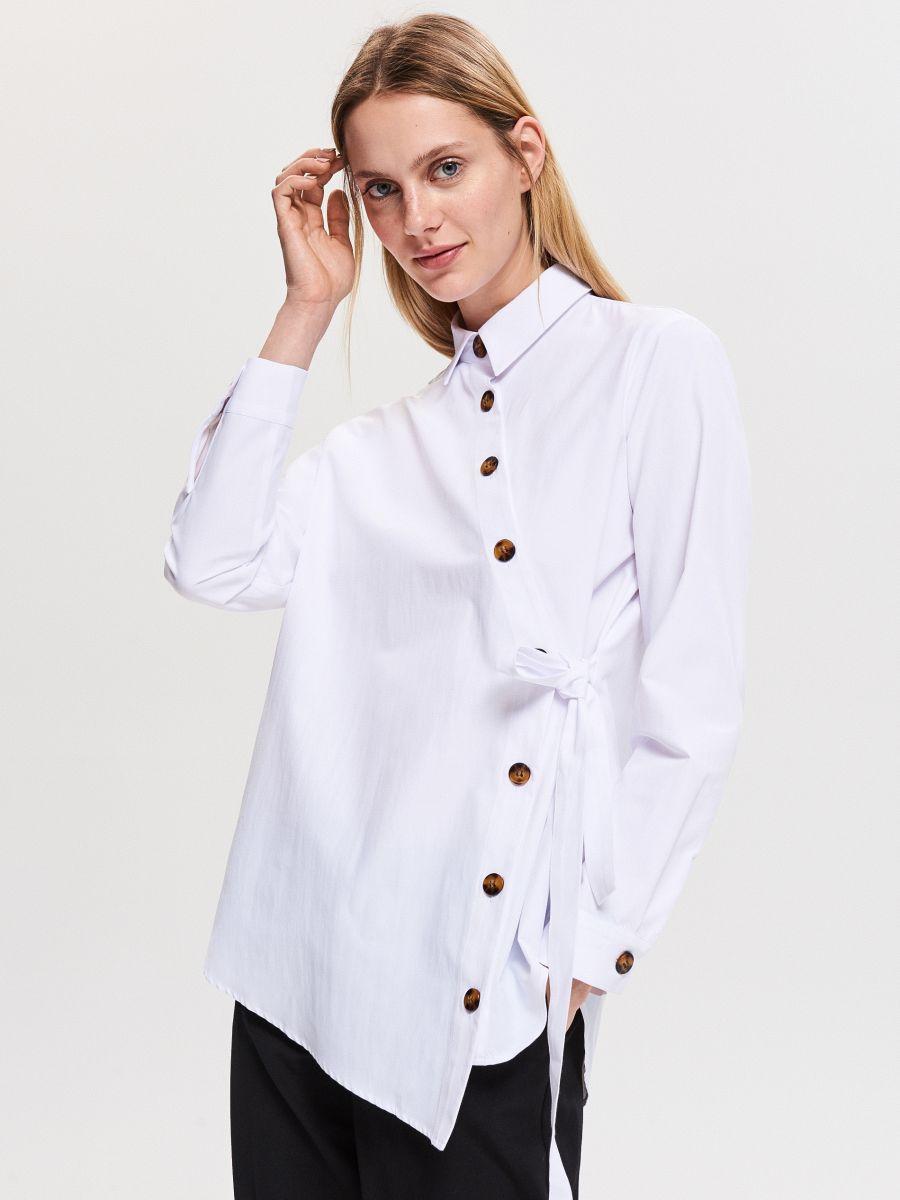 0c307fdc2c1 Асимметричная рубашка