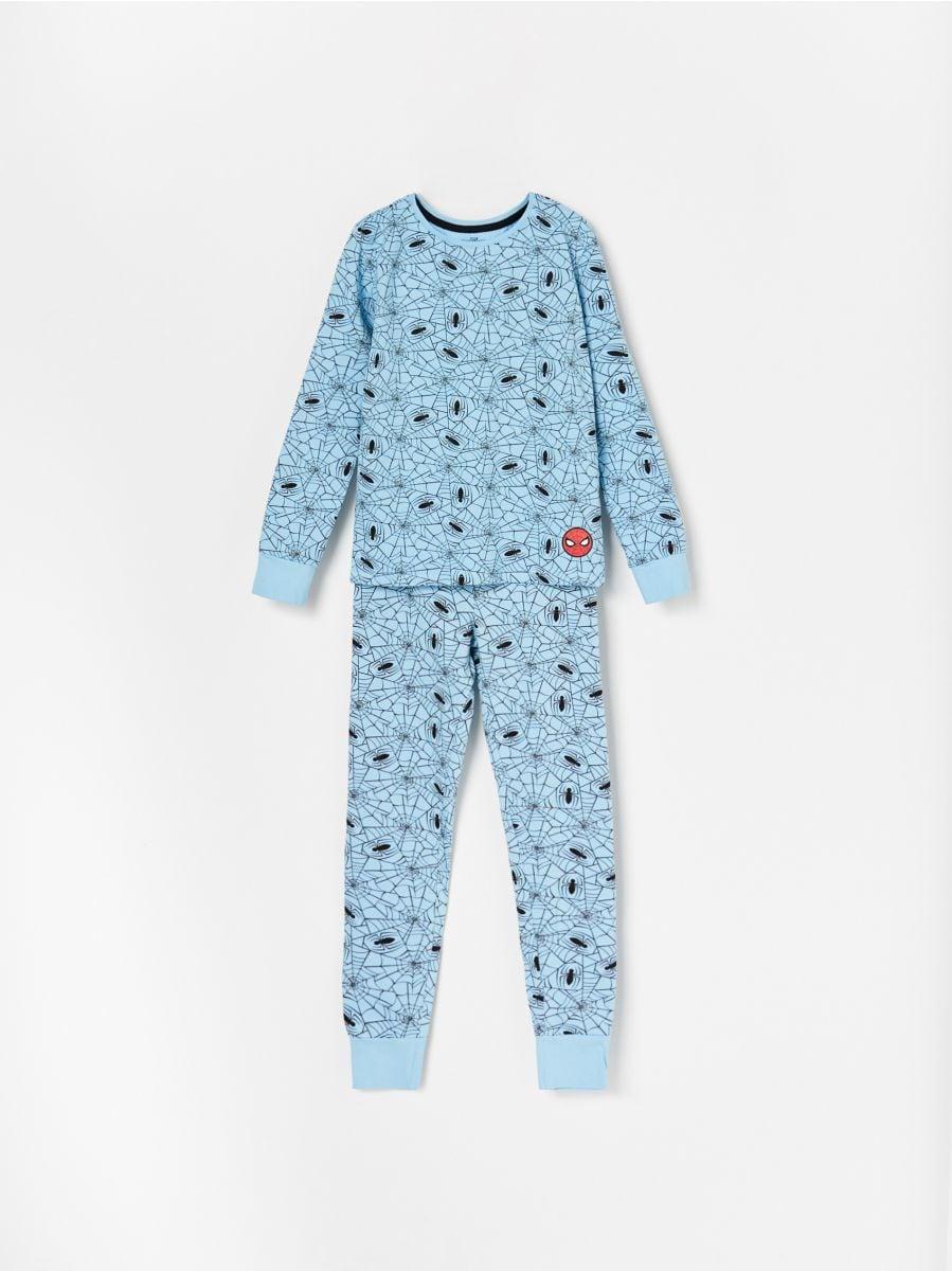 8813902ee28995 Bawełniana piżama Spiderman - niebieski - WF462-05X - RESERVED - 1