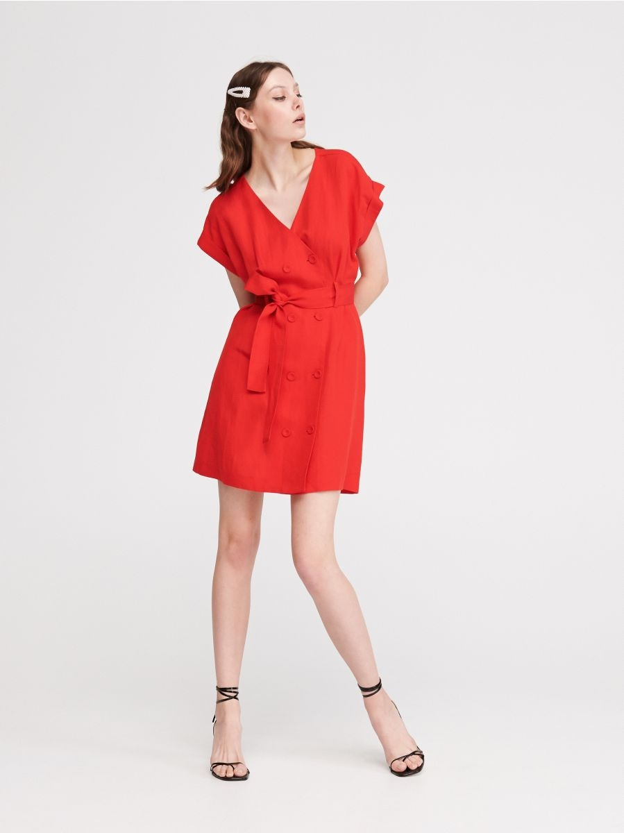 f8a1c4ef6ae4 Nakupujte online! Dvojradové šaty