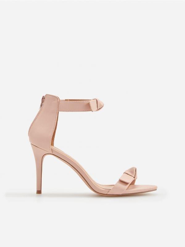 458fa3a3fe Sandále na stĺpiku · Sandále na vysokom opätku - ružová - VR914-03X -  RESERVED
