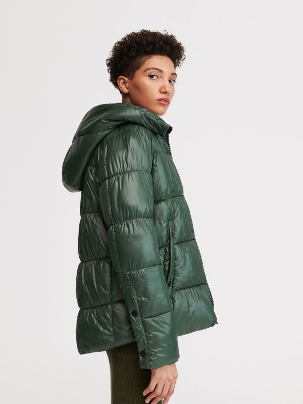 0f1371b0de87 4 Hooded quilted jacket - green - VY459-79X - RESERVED