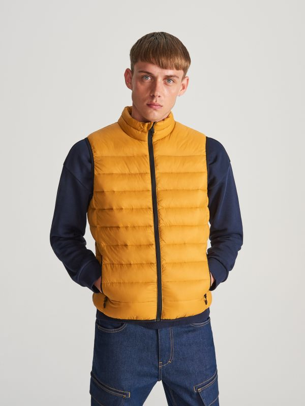 1507f2c09475 Quilted jacket · MEN`S OUT VEST - yellow - WF413-18X - RESERVED