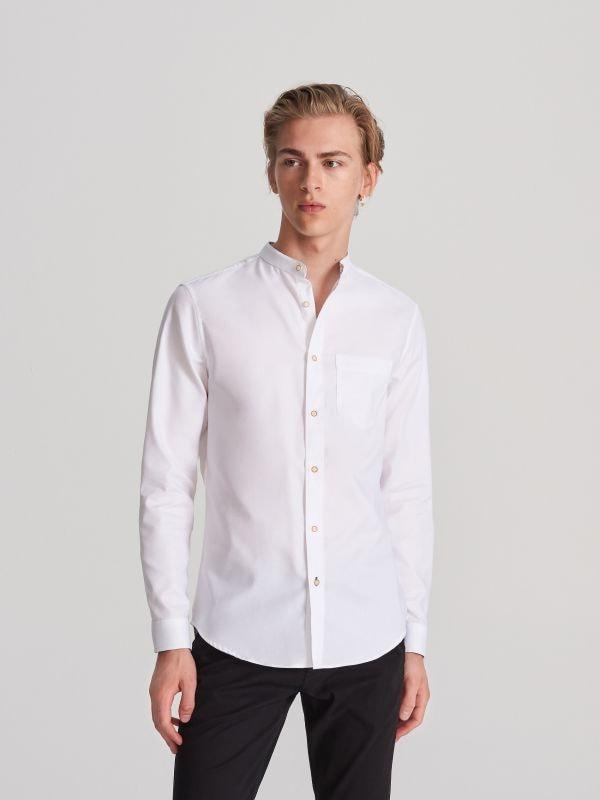 7f89e49dd6eed7 4 Koszula z bawełny organicznej - biały - WG565-00X - RESERVED