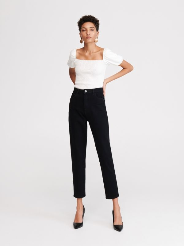 9810637852 LADIES` JEANS TROUSERS · LADIES` JEANS TROUSERS - fekete - WK930-99J -  RESERVED